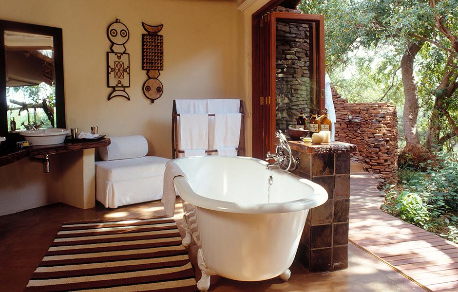 Sanctuary Makanyane bathroom