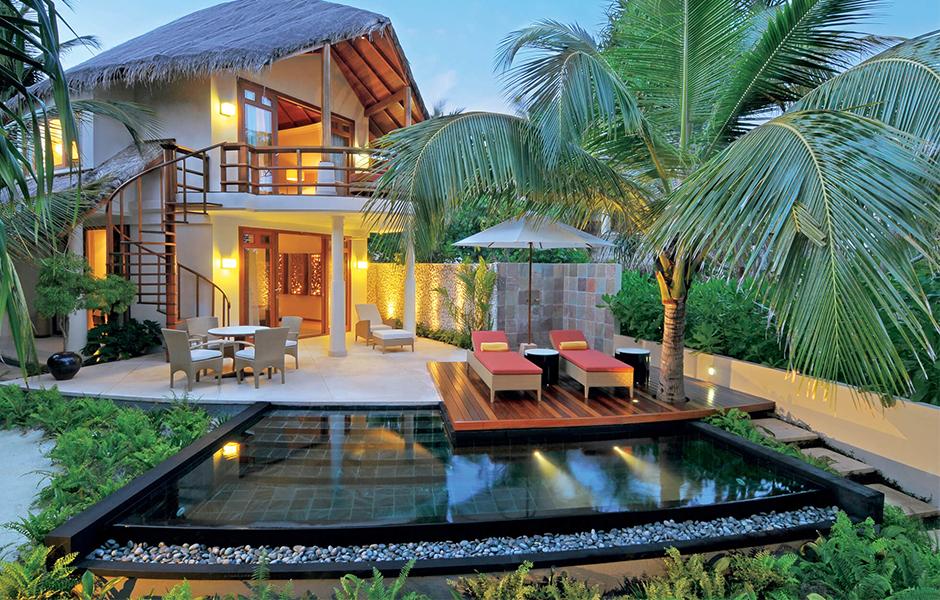 double storey beach villa constance halaveli