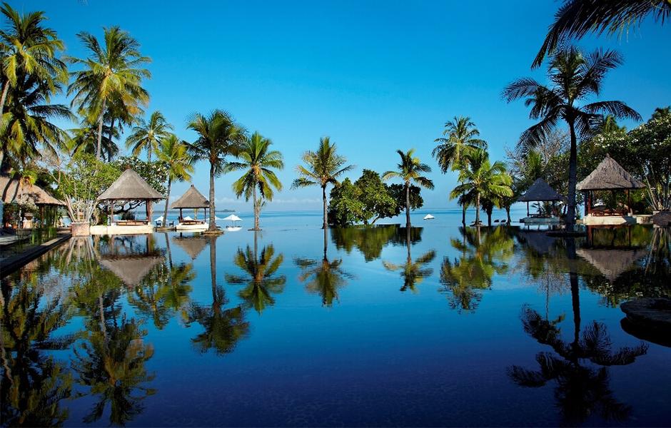 oberoi lombok pool