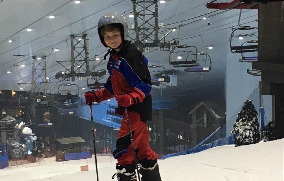 kai skiing