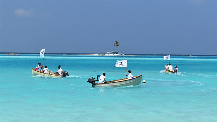 Pirates at Gili Lankanfushi