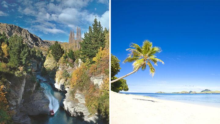 NZ and Fiji