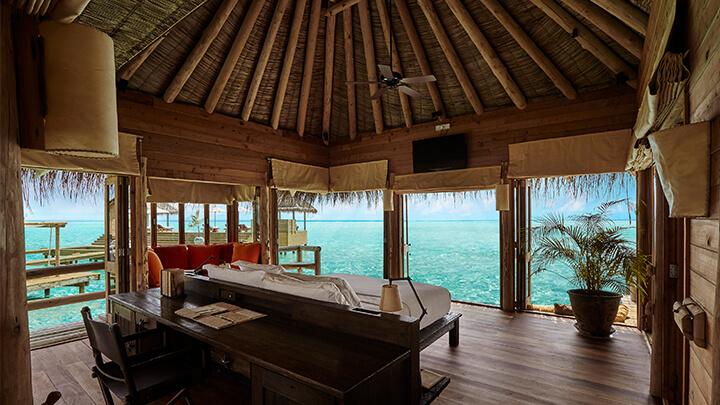 Gili Lankanfushi Master bedroom