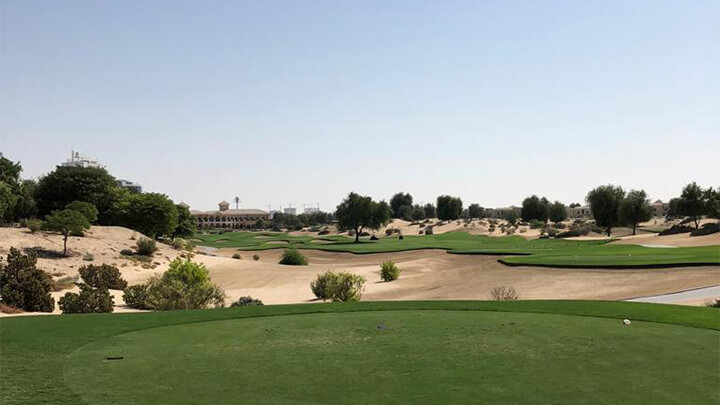 golf dubai